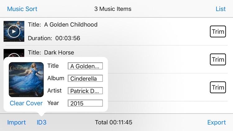 Audio Merge & Audio Cut Edit Pro