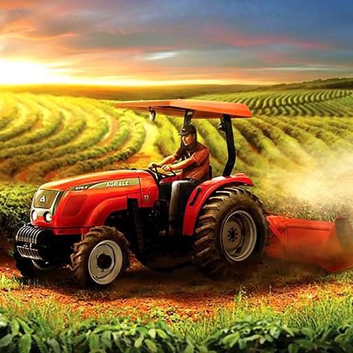 Ферма Симулятор Игры : Дизель Трактор Уборка урожа