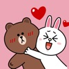 BROWN & CONY Sweet LOVE - LINE FRIENDS