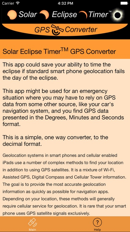 Solar Eclipse Timer GPS Converter screenshot-4