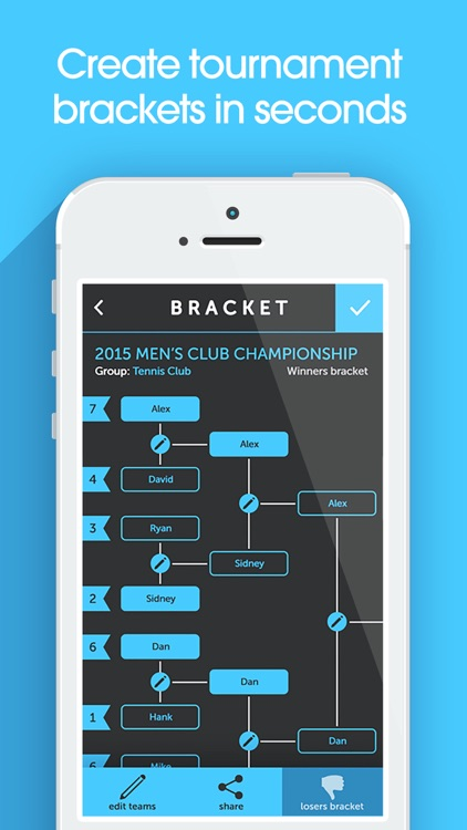 My Bracket - Tournament Manager for Amateur Sports