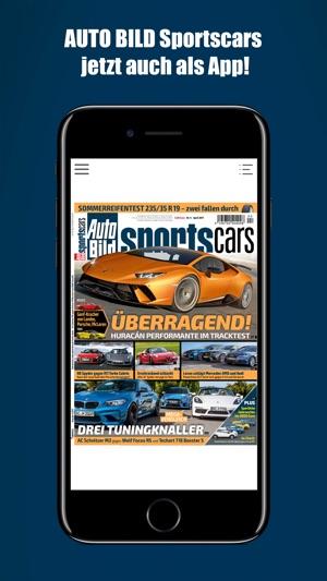 Auto Bild Sportscars Reader im App Store