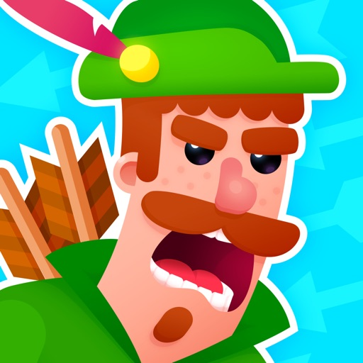 Bowmasters - Top Multiplayer Bowman Archery Game app logo