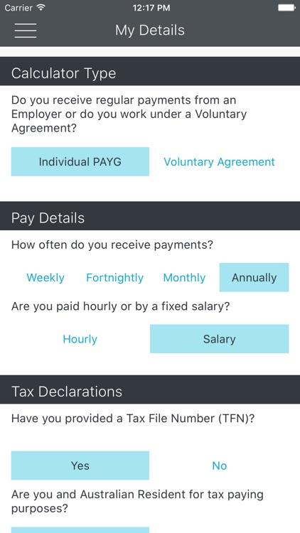 Payday - ATO Tax Calculator screenshot-3