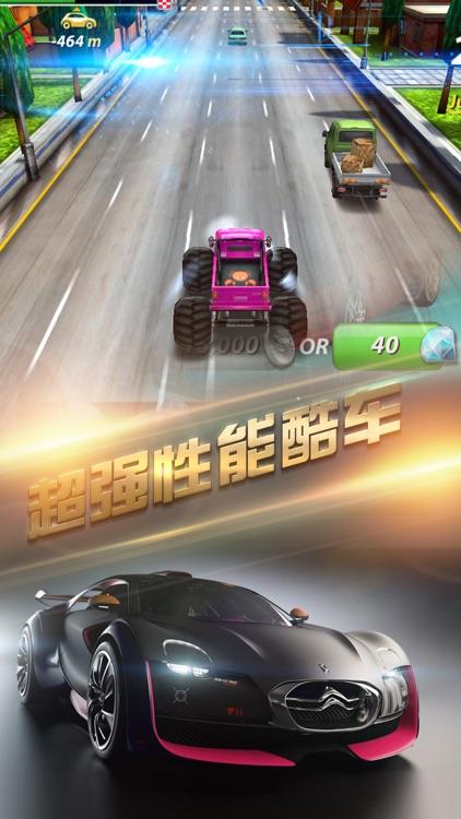 赛车-疯狂街区速度小游戏