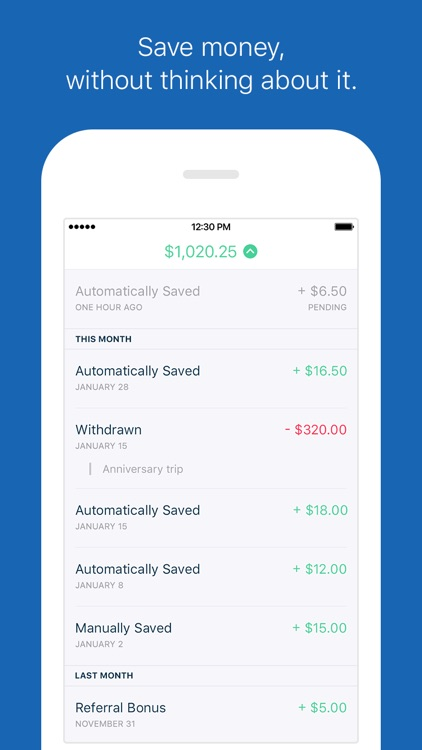 Digit - Save Money Automatically without a Budget