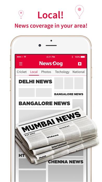 NewsDog - Indian Breaking News screenshot three