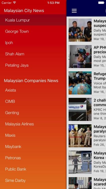 Malaysia News Today & Malaysian Radio screenshot-4