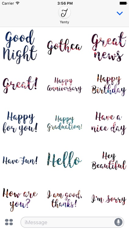Awesome Greetings Stickers Pack