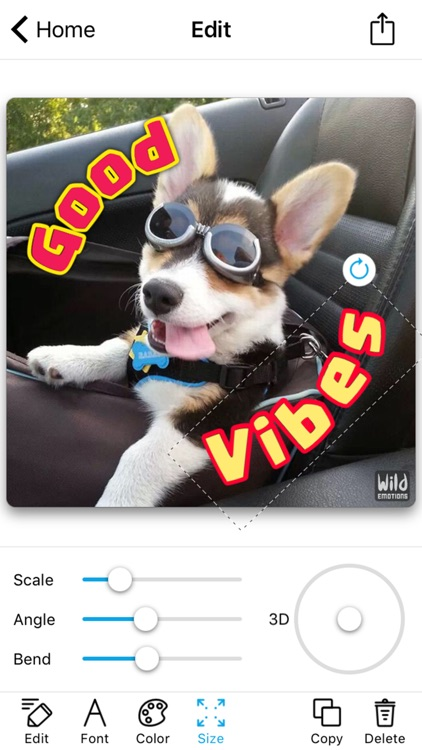 WildEmotions: add text to photos with animal cards screenshot-4