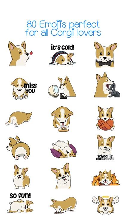 CorgMoji - Corgi Dog Pet Emoji Stickers! screenshot-3
