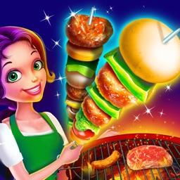 Kids BBQ Maker Super Grill Party!