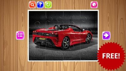 Sport Cars Jigsaw Puzzle Game For Kids and Adults screenshot two