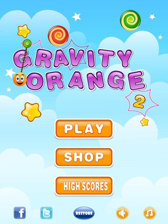 Gravity Orange 2 screenshot 1