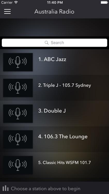 Australia Radios - Top Stations Music Player FM AM