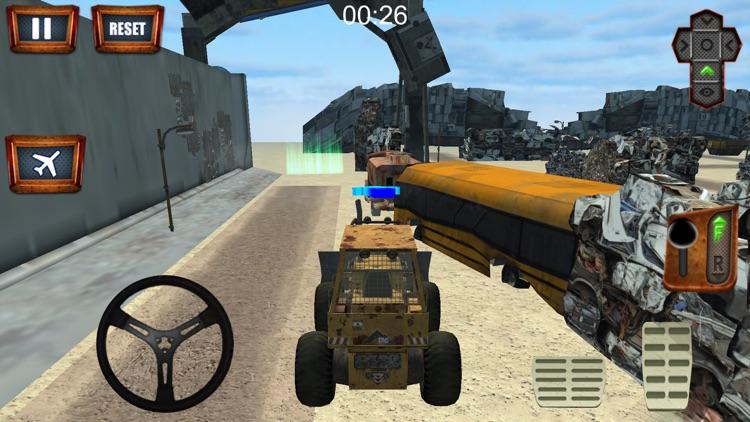 Flying Truck Junkyard Parking screenshot-4