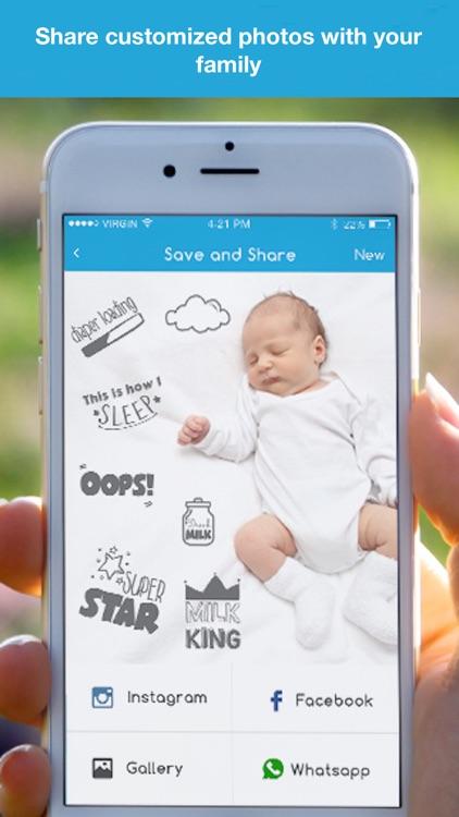 Baby Studio Pro - Pregnancy, Baby Milestones Pics screenshot-4