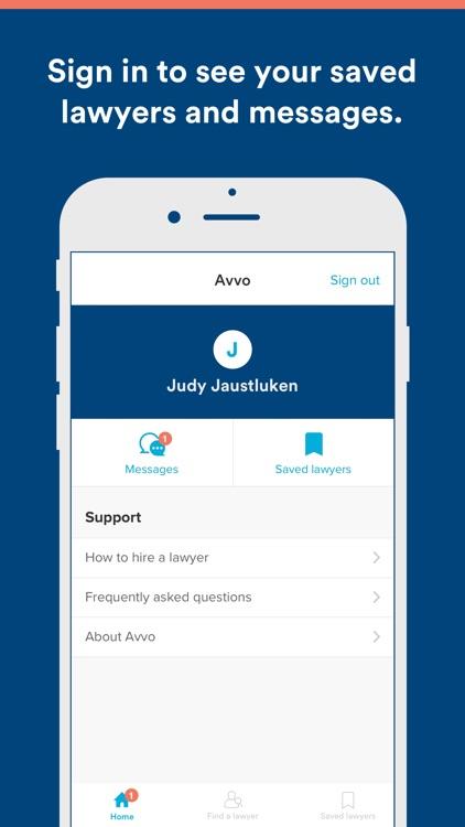 Avvo - Find your lawyer screenshot-3
