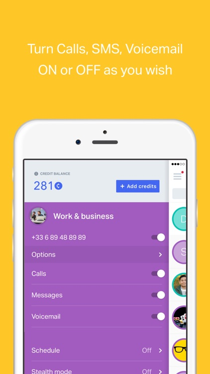 onoff App - Multiple, Private Phone Numbers screenshot-4