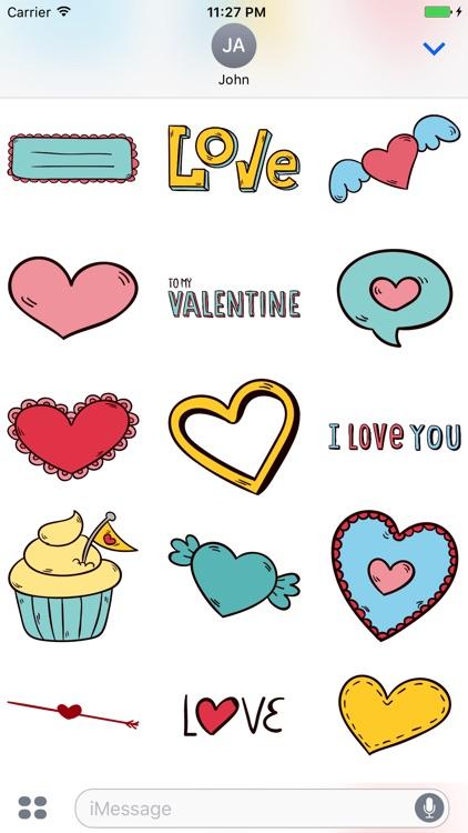 Happy Valentine Day - Stickers
