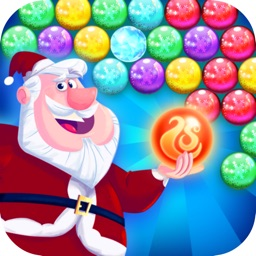 Bubble Sata for Christmas Game