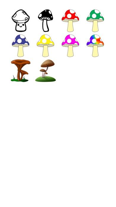 蘑菇貼紙包!屏幕截圖1
