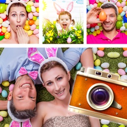 Easter Photo Collage Frames & Stickers