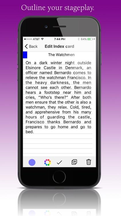 StoryO: Story Outlining screenshot-3