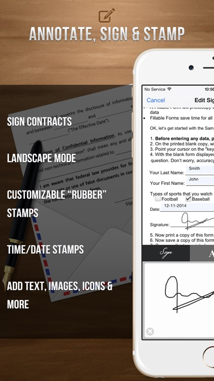 Sign It! - Fill, Sign and Send PDF Documents