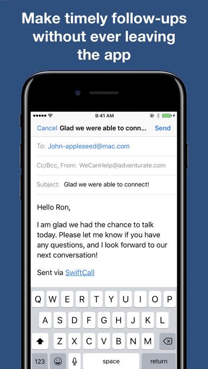 SwiftCall: Sales Auto-Dialer screenshot-3