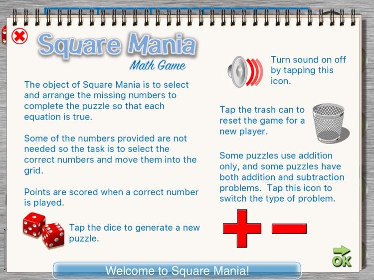 Square Mania Math Game screenshot-3