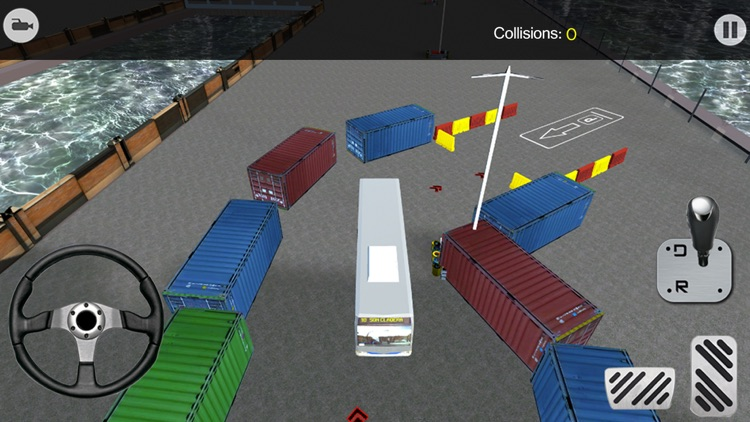 City Bus Parking 3D Simulator screenshot-4