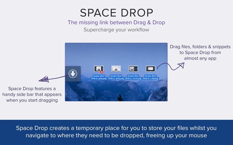 Space Drop: Better Drag & Drop Screenshot 01 9nlv2mn