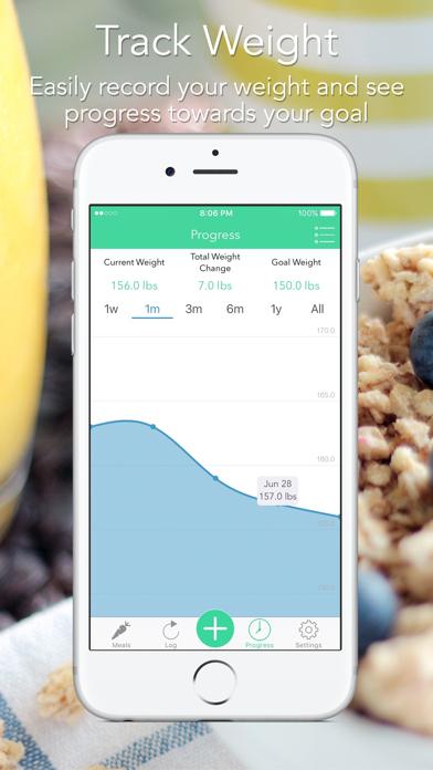 iMacro - Diet, Weight and Food Score Trackerのおすすめ画像5