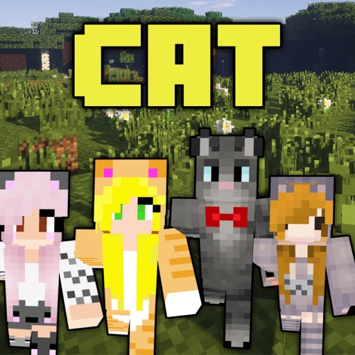 Cat Skins - New Skins for Minecraft PE & PC