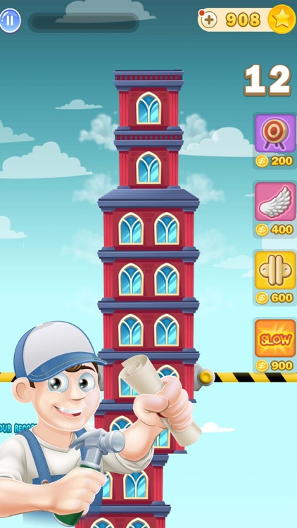 Tower Builder Lite 3D Super Block Stack Dream City