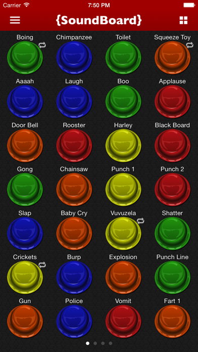 Screenshot #1 pour Sound Board - Annoying Sounds and Funny Effects!