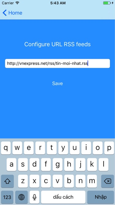 News Feed RSS app image