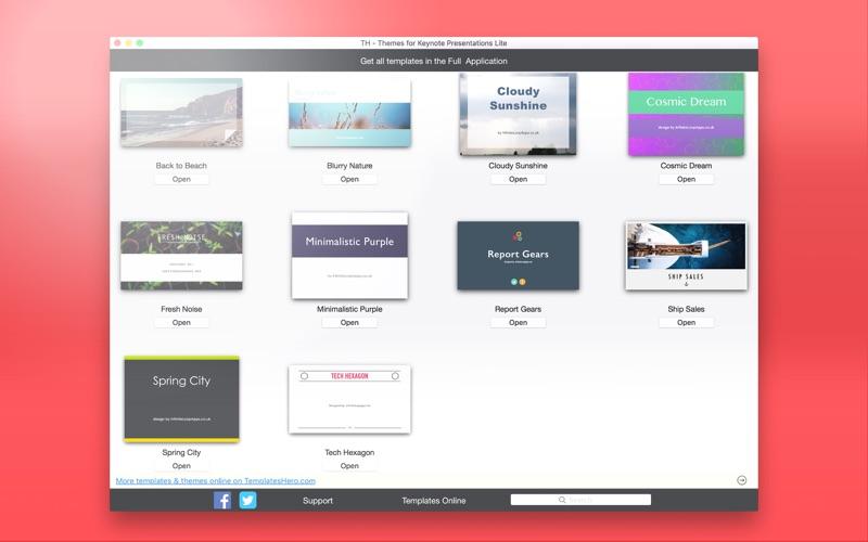 TH - Themes for Keynote Presentations Lite скриншот программы 5