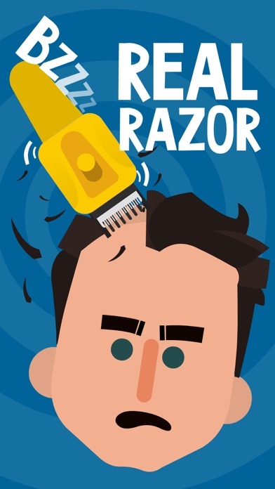 Real Razor prank: Electric hair trimmer & chainsaw