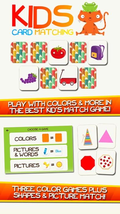 Screenshot #1 pour Apprendre Couleurs App Formes Préscolaires Jeux