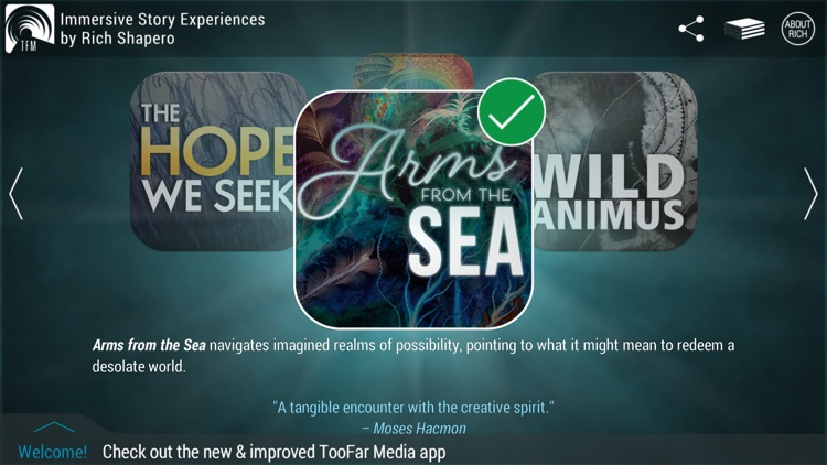 TooFar Media: Immersive Story Experiences screenshot-0