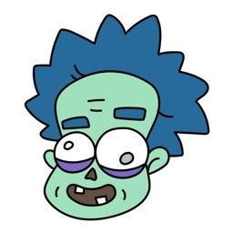Zombie Stickers Bundle