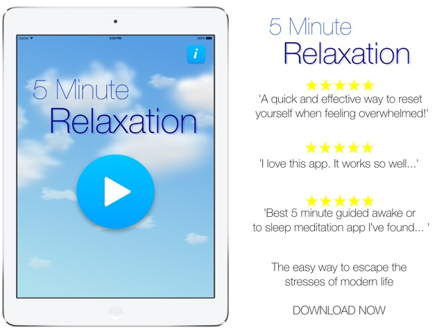 relaxation 5 min