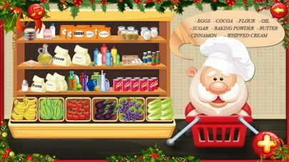 santa cooking and Maker dessert cake christmas screenshot one