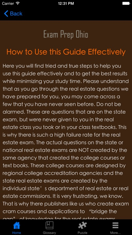 ExamPrepOH - Ohio Real Estate Agent Exam Prep. screenshot-2