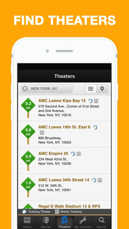 MovieTickets.com - Showtimes and Tickets screenshot-4