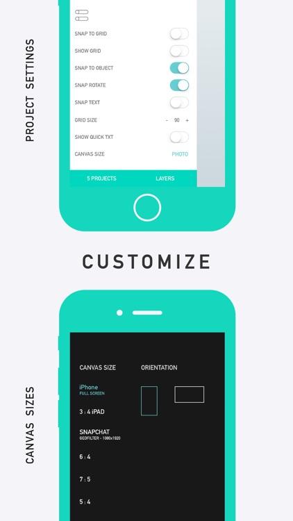 CREATE - Graphic Design + Draw screenshot-4