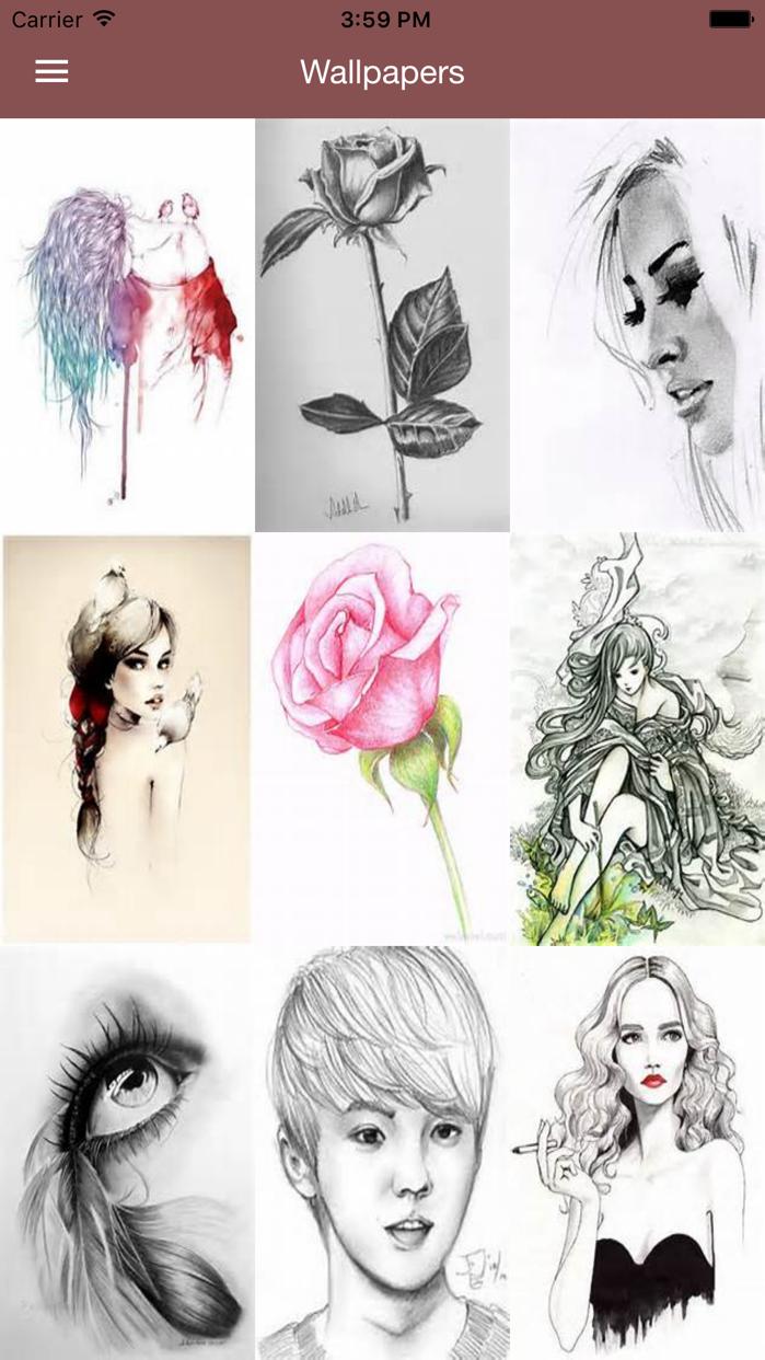 Drawing Art Ideas - Best Art Collection in HD Screenshot