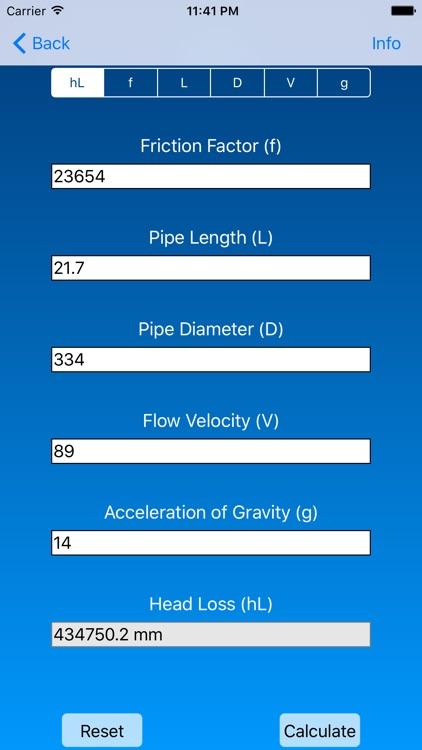 Basic Fluid Mechanics Formulas screenshot-3